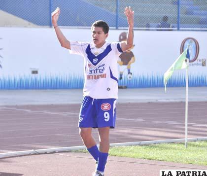 Carlos Saucedo, goleador de San José