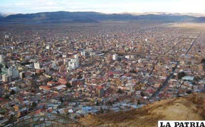 Oruro se ve postergada debido a la falta de reactivación económica