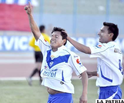 Abdón Reyes, autor del cuarto gol de San José