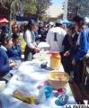 """Estudiantes de la Unidad Educativa """"Nacional Bolivia"""""""