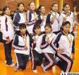 Jesús María logró el primer lugar en voleibol damas