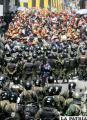 Violencia de cooperativistas será respondida con más violencia
