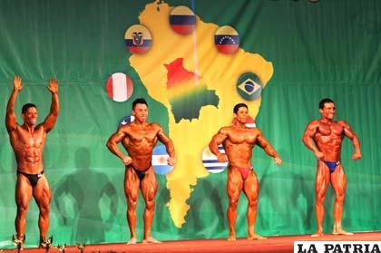 Atletas que intervinieron en la competencia internacional