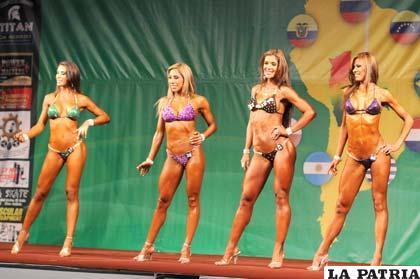Las damas también tuvieron su lugar en el certamen