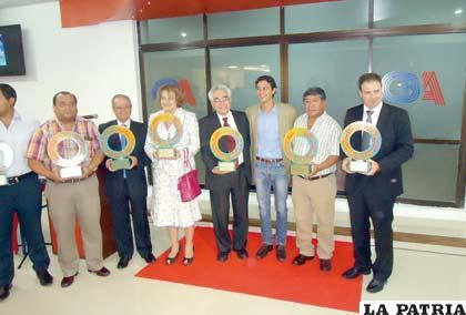 Acto de entrega de galardones del III Foro Internacional de Turismo