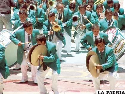 Las bandas, forman parte importante de la Obra Maestra del Patrimonio Oral e Intangible de la Humanidad