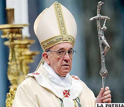 El Papa Francisco podría visitar Bolivia en 2016