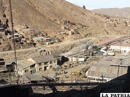Gobierno garantiza que Huanuni seguirá siendo una mina estatal