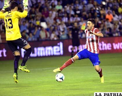Raúl García fue el goleador del Atlético