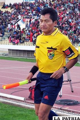 Bruno Martínez, árbitro orureño