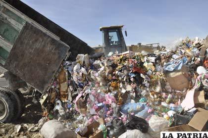 La basura que se genera en la ciudad de Oruro
