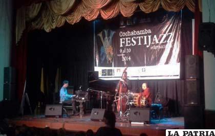 Comenzó en Cochabamba el Festijazz internacional