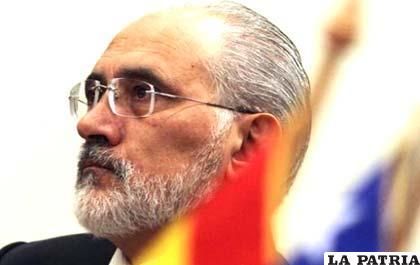 El expresidente y vocero de la demanda marítima boliviana, Carlos Mesa