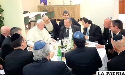 Nuevo encuentro de líderes judíos con el Papa Francisco