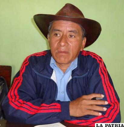 Presidente de la Subcentral Tipnis, Fernando Vargas