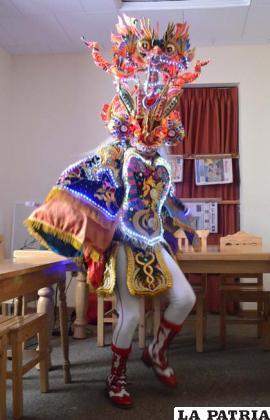 Las luces que se podrán apreciar en el Carnaval de Oruro