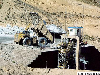 La nueva minería necesita fuertes inversiones y apropiada tecnología