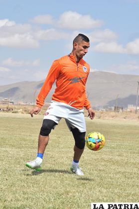 Delio Ojeda, jugador de San José