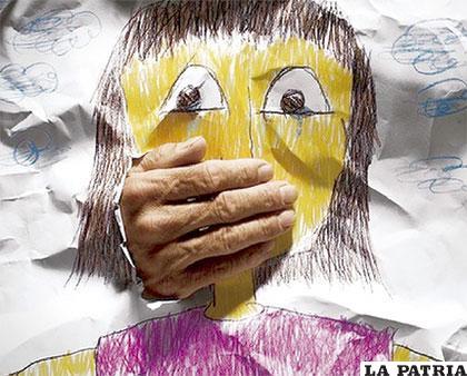 El acosador silencia a sus víctimas con amenazas