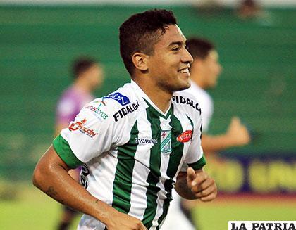Alcides Peña, delantero de Oriente Petrolero /APG
