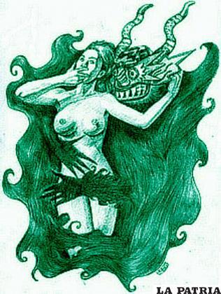 La seduce con sus poderes sobrenaturales