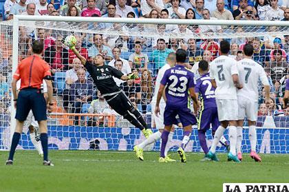 Real Madrid empató con el Málago 0-0 /AS.COM