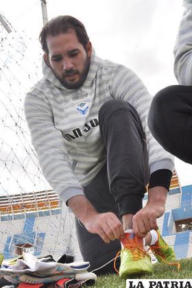 El arquero Felipe Gomes