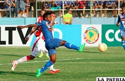 En la ida venció Emelec 2-1 en Ecuador /andes.ec