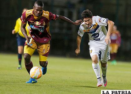Empate a uno fue el resultado del partido de ida jugado en Colombia /clarosports.com