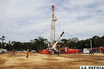 Pozo petrolero Boquerón 4 /ABI