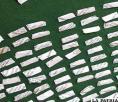 Hallan 296 sobres de cocaína  en uno de los techos de la cárcel