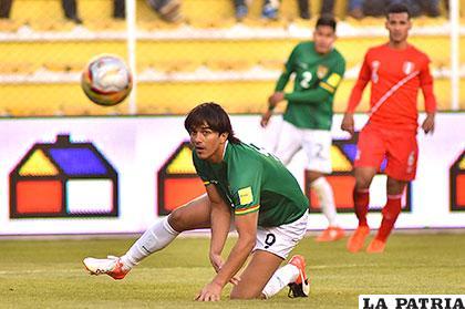 Martins no estuvo acertado pero fue un buen aporte para el equipo boliviano /APG