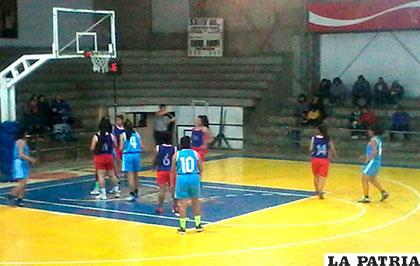 La acción del partido en el cual Oruro venció a Villa Montes