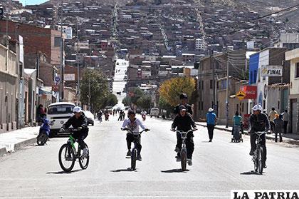 JCI pretende fomentar el uso de bicicletas