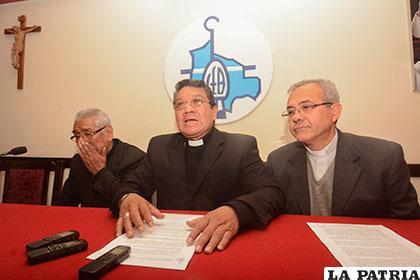Conferencia Episcopal de Bolivia pide esclarecimiento del hecho /ANF