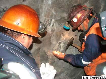 Las actividades en la minería estatal se desarrollan con regularidad.