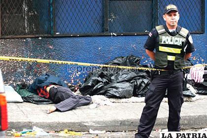 Las víctimas eran indigentes que recibían drogas de su asesino /laprensalibre.cr