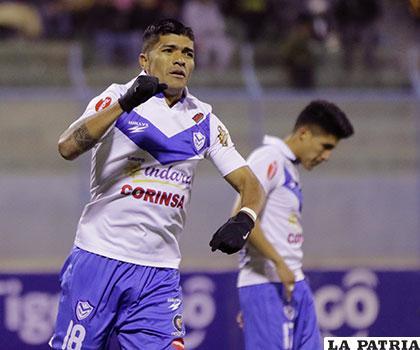 Gabriel Ríos, delantero del plantel