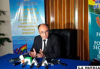 Caso libreta: Diputado Quispe denuncia a ministro Ferreira por cuatro delitos