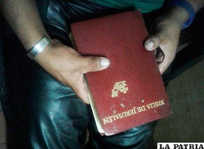 La Biblia de Jerusalén que estaba en poder del