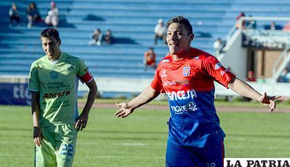 Universitario venció 2-0 la última vez que jugaron en Sucre el 15/05/2016 /APG