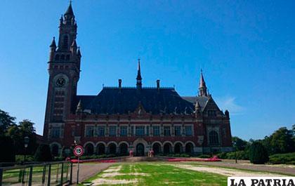 La Corte Internacional de Justicia de La Haya /ABI