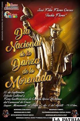 Festejo por el Día de la Morenada inicia hoy /GAMO