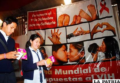 Santa Cruz, La Paz, Cochabamba y Oruro, los departamentos con más casos de VIH-Sida /bolivia.interlatin.com