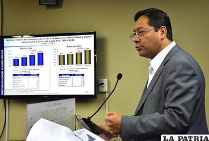 Ministro Luis Arce no garantiza el pago del doble aguinaldo /BOLIVIA.COM