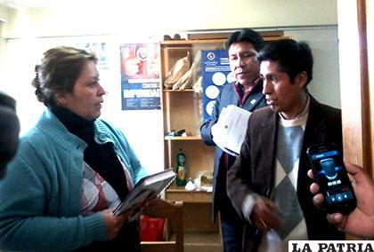 Visita de autoridades de la Brigada Parlamentaria a oficinas del Ministerio Público