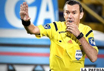 Wilson Lamouroux dirigirá el cotejo Brasil - Bolivia /futbolete.com