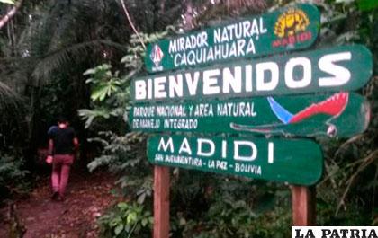 Rurrenabaque es la puerta de entrada al Madidi /ANF