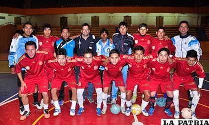 El equipo de Constructora Cobbel representará a Oruro en la Liga del futsal