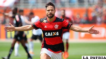 Diego, delantero del Flamengo